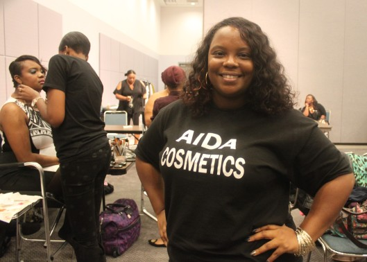 Exec Assisatnt and PR for AIDA Cosmetics, Alyssa!